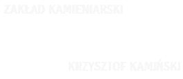"""Kamieniarz Strzegom – Kamieniarstwo """"Kamyk"""""""